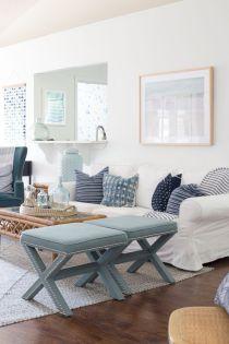 Adorable country living room design ideas 27