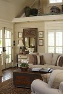 Adorable country living room design ideas 29