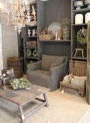 Adorable country living room design ideas 37
