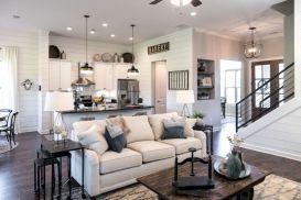 Adorable country living room design ideas 41