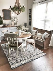 Adorable country living room design ideas 54