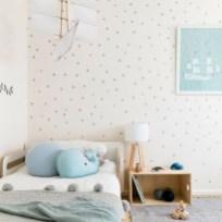 Adorable and fun christmas kids room design ideas 32