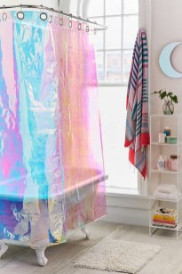 Affordable shower curtains ideas for small apartments 10
