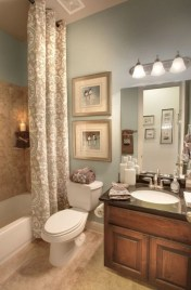 Affordable shower curtains ideas for small apartments 13