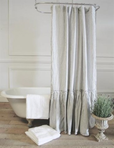Affordable shower curtains ideas for small apartments 17