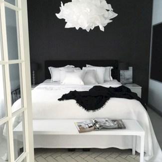 Amazing black and white bedroom ideas (12)