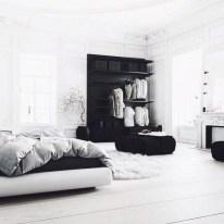 Amazing black and white bedroom ideas (24)