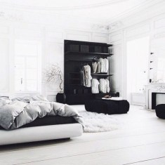 Amazing black and white bedroom ideas (24)