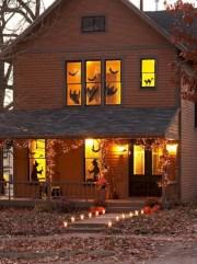 Amazing halloween window decoration ideas 14