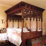 Antique and unique bedroom decorating ideas 26