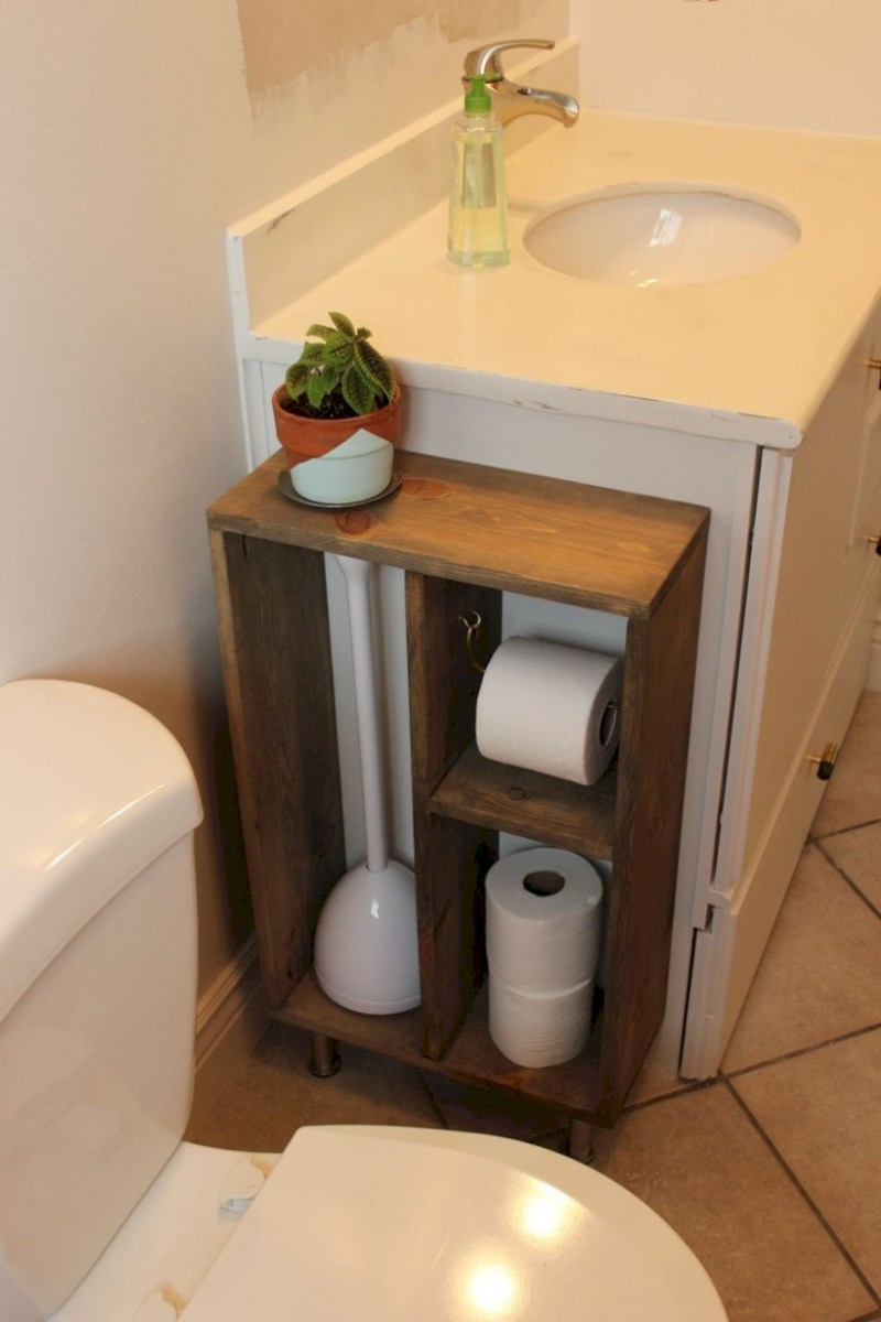 Awesome diy organization bathroom ideas you should try (20)