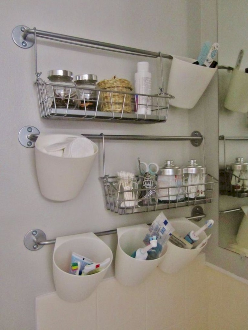 Awesome diy organization bathroom ideas you should try (27)
