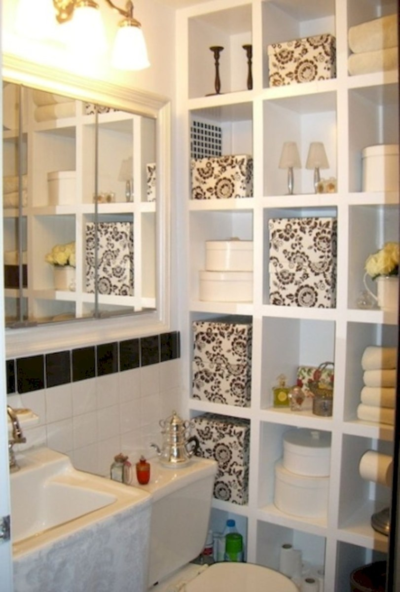 Awesome diy organization bathroom ideas you should try (3)