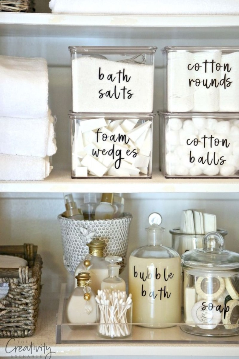 Awesome diy organization bathroom ideas you should try (33)
