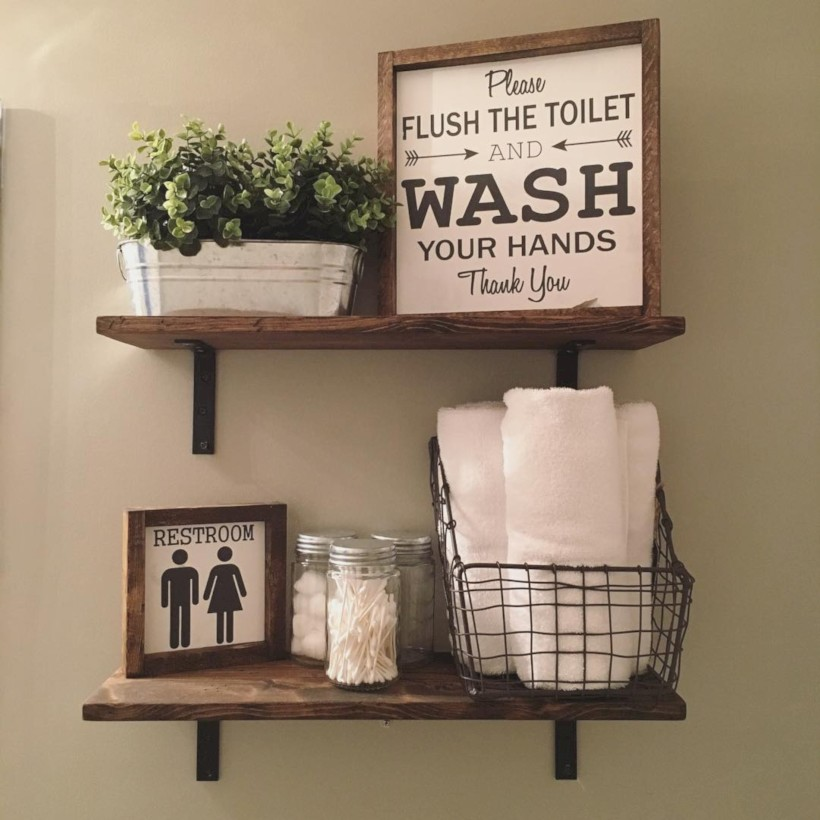 Awesome diy organization bathroom ideas you should try (7)