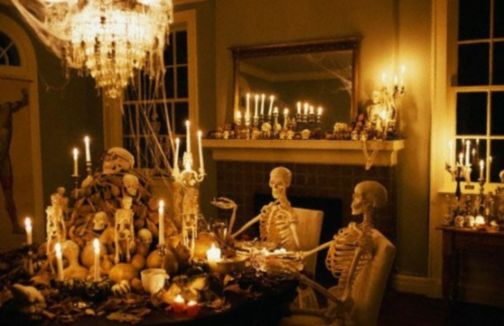 Awesome halloween indoor decoration ideas 17 17
