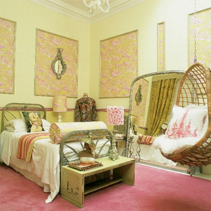 Beautiful bedrooms design ideas with swing chairs 40