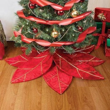 Beautiful christmas decoration ideas in red domination 29