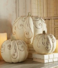 Beautiful ideas for elegant black and white halloween 02