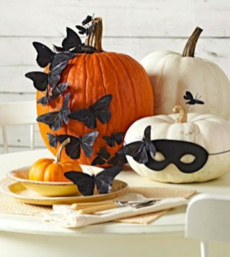 Beautiful ideas for elegant black and white halloween 24
