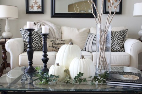 Beautiful ideas for elegant black and white halloween 26