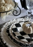 Beautiful ideas for elegant black and white halloween 49
