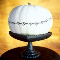 Beautiful ideas for elegant black and white halloween 50