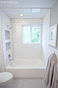 Beautiful subway tile bathroom remodel and renovation (13)