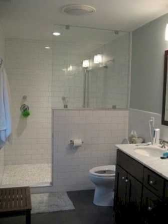 Beautiful subway tile bathroom remodel and renovation (20)