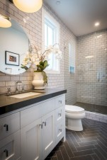 Beautiful subway tile bathroom remodel and renovation (4)