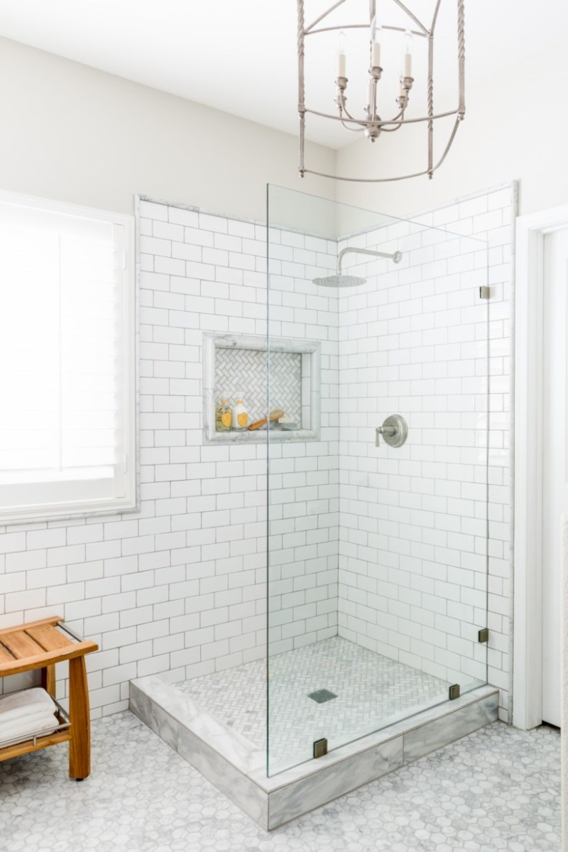 Beautiful subway tile bathroom remodel and renovation (46)