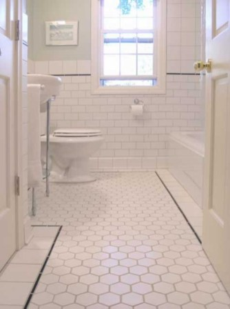 Beautiful subway tile bathroom remodel and renovation (5)