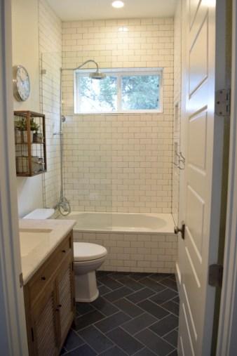 Beautiful subway tile bathroom remodel and renovation (54)
