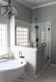 Beautiful subway tile bathroom remodel and renovation (8)