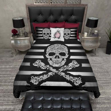 Black and white bedding sets ideas 28