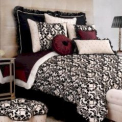 Black and white bedding sets ideas 42
