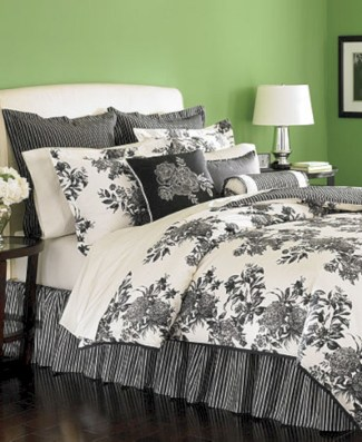 Black and white bedding sets ideas 47