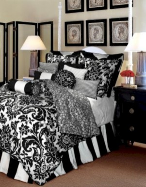 Black and white bedding sets ideas 56