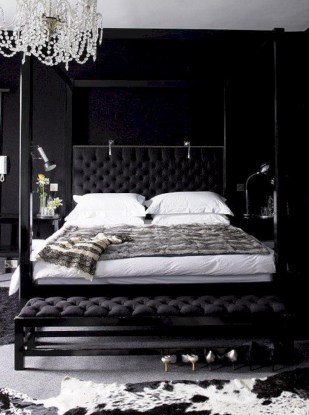 Black and white bedding sets ideas 59
