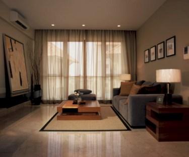 Classy living room floor tiles design ideas 25