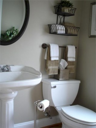 Cool organizing storage bathroom ideas (13)