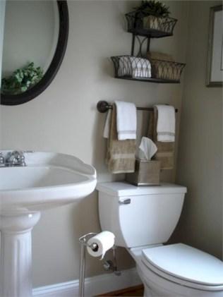 Cool organizing storage bathroom ideas (13)