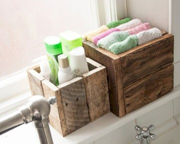 Cool organizing storage bathroom ideas (18)