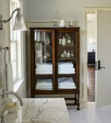 Cool organizing storage bathroom ideas (23)