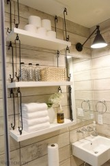 Cool organizing storage bathroom ideas (29)