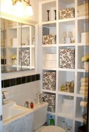 Cool organizing storage bathroom ideas (4)