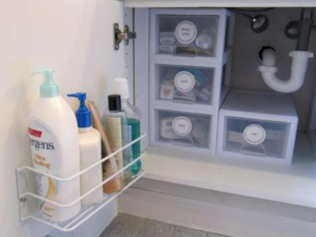 58 Cool Organizing Storage Bathroom Ideas