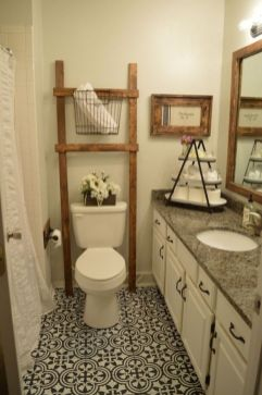 Creative diy bathroom ideas on a budget (18)