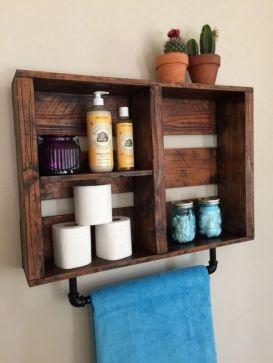 Creative diy bathroom ideas on a budget (19)
