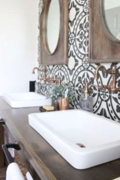 Creative diy bathroom ideas on a budget (32)